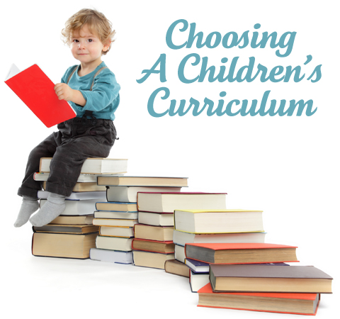 Choosing curriculum for children s ministry for Childrens material